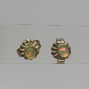 /Ethiopian Opal Stud Earrings