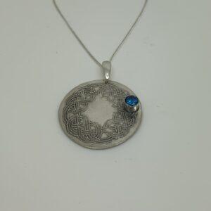 /Celtic Love Knot Necklace